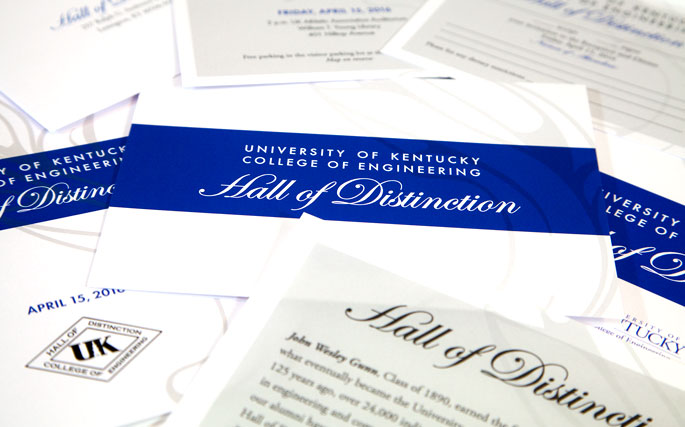 Hall of Distinction 2016 - Print Design