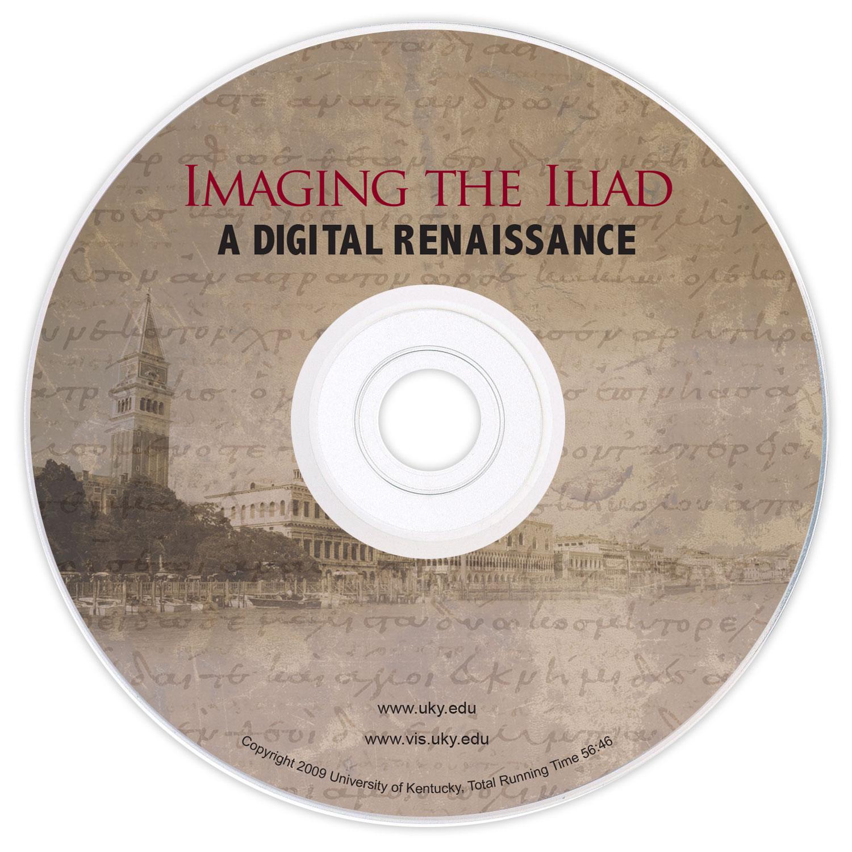 Imaging the Iliad DVD - print design