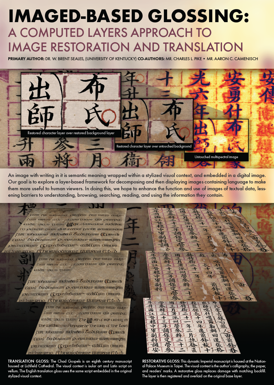 Image-Based Glossing - Historical Preservation - Print Design
