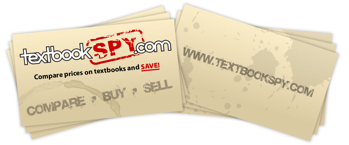 Textbookspy.com business cards - Print Design