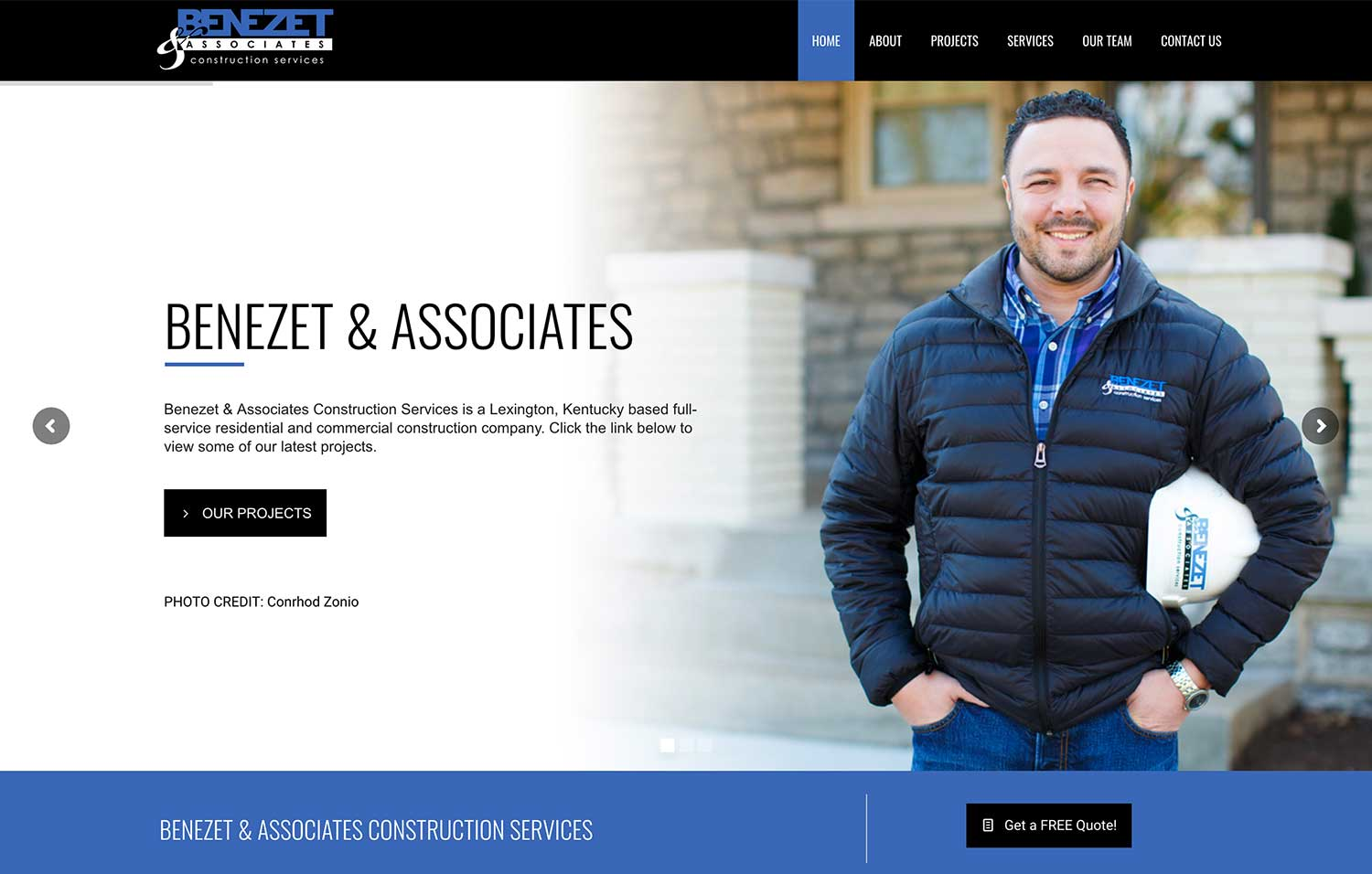 Benezet & Associates - Website Design
