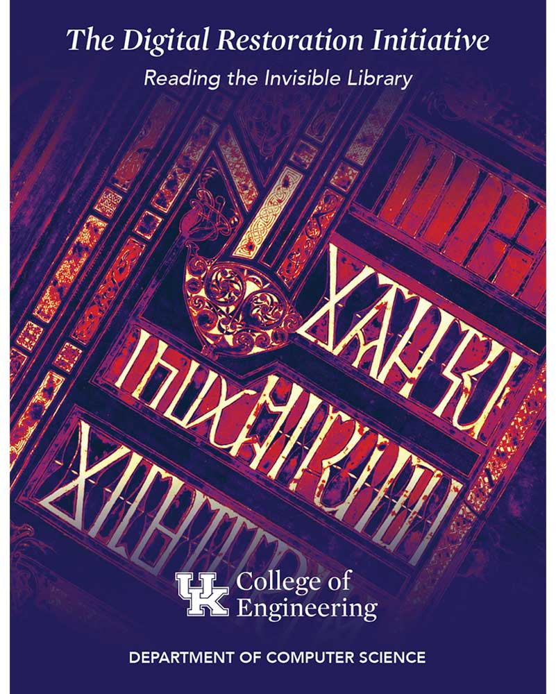 Digital Restoration Initiative Brochure Cover Design