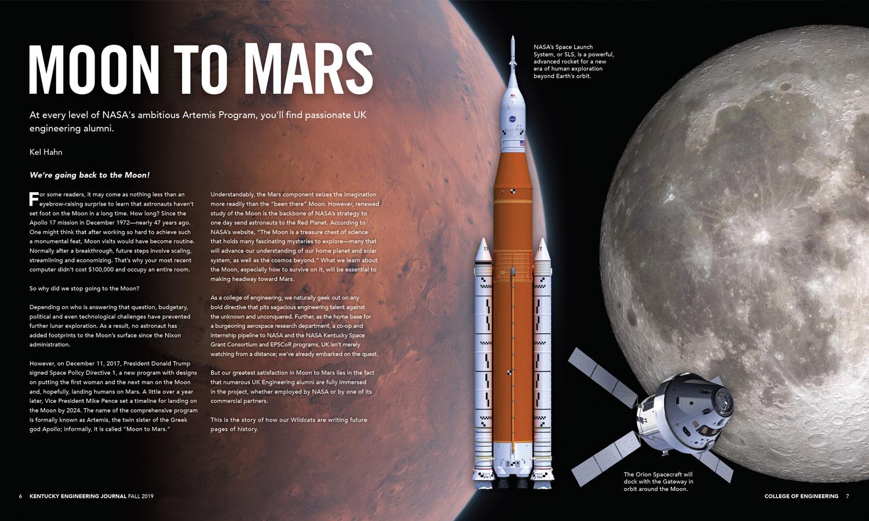 KEJ Fall 2019 Moon to Mars Spread
