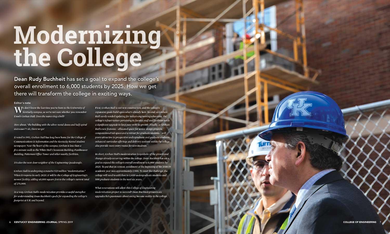 KEJ Spring 2019 Modernizing College Spread