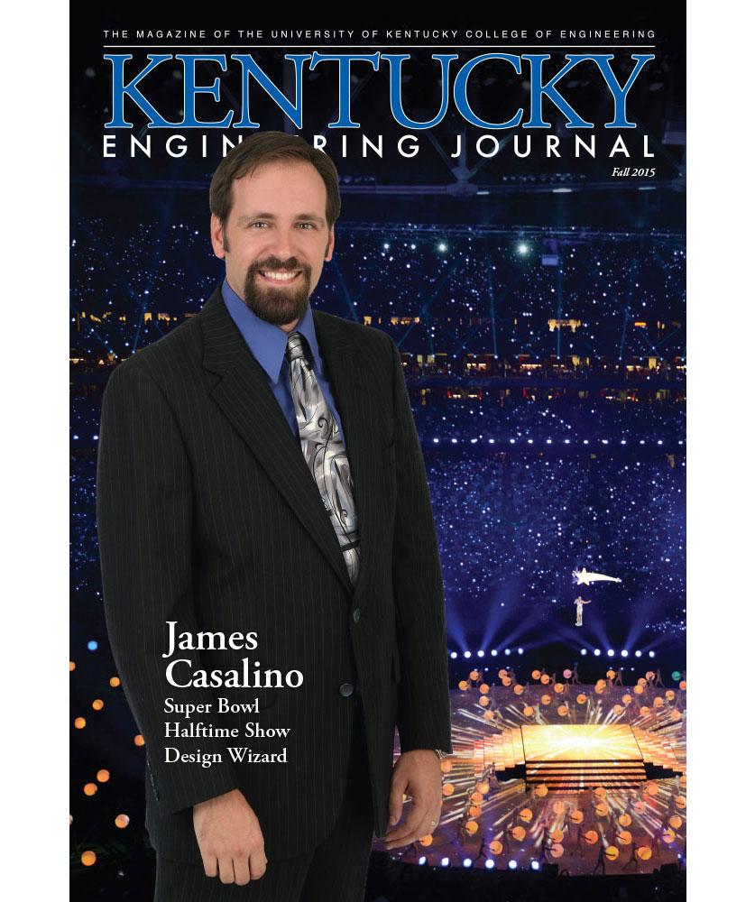 Kentucky Engineering Journal Fall 2015 Cover