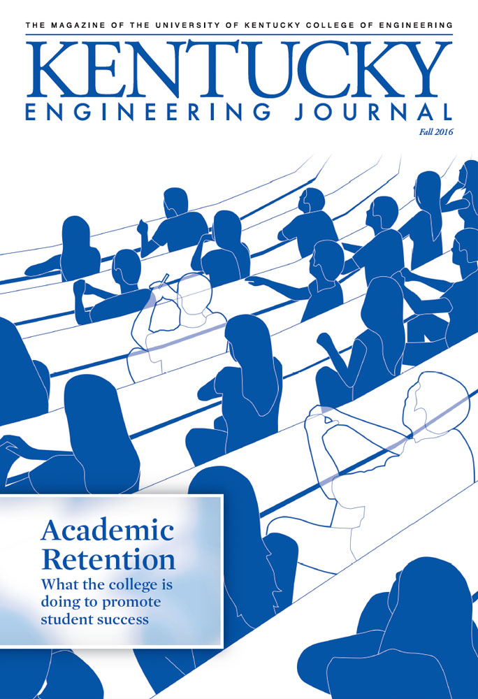 Kentucky Engineering Journal Fall 2016 Cover