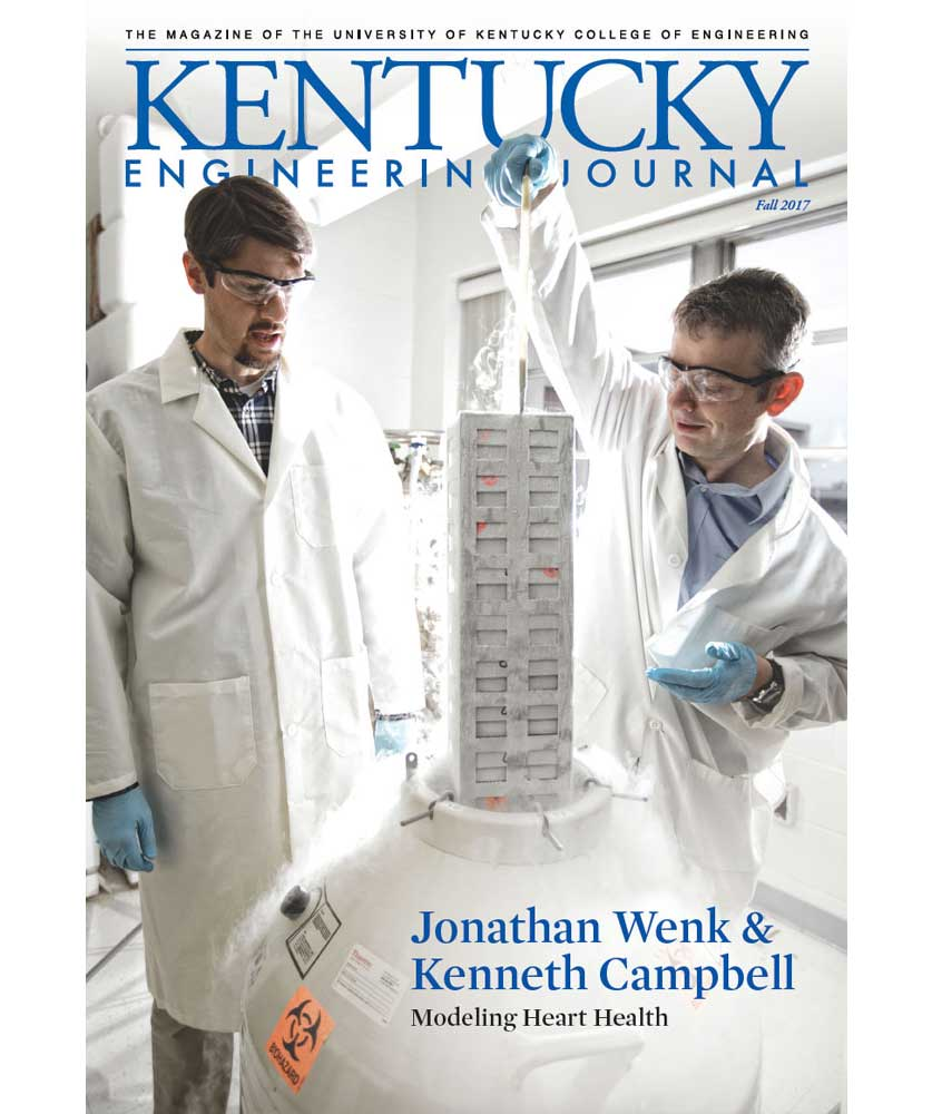 Kentucky Engineering Journal Fall 2017 Cover