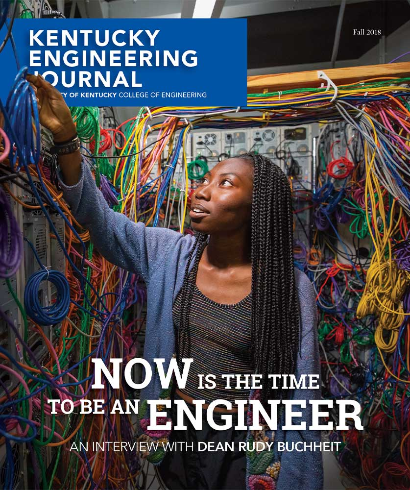 Kentucky Engineering Journal Fall 2018 Cover