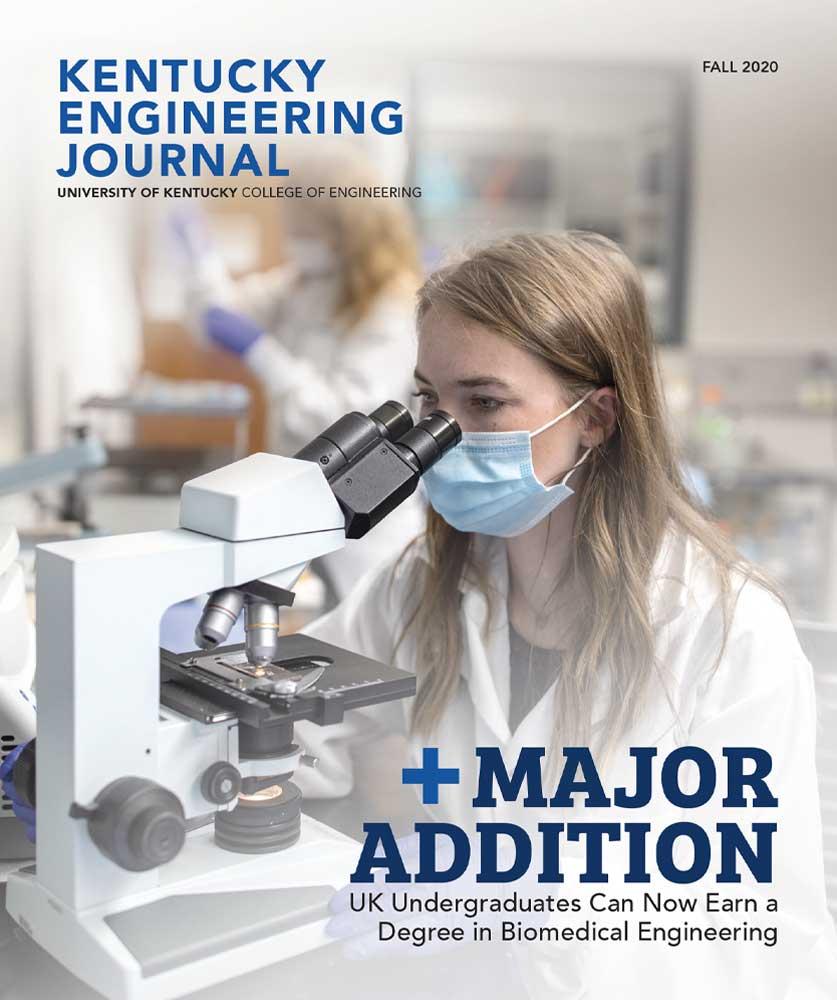 Kentucky Engineering Journal Fall 2020 Cover
