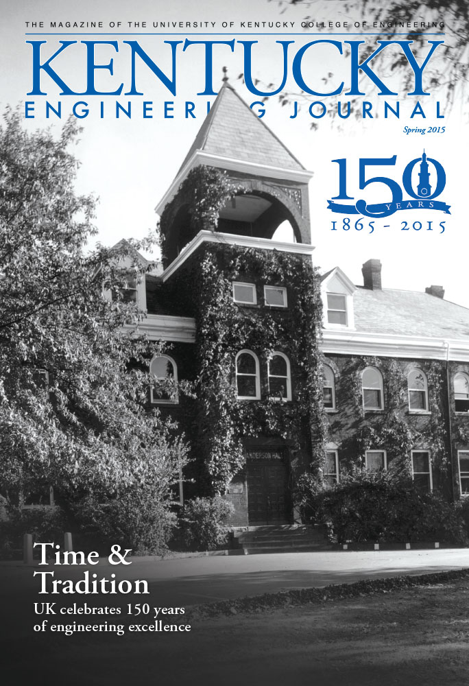 Kentucky Engineering Journal Spring 2015 Cover