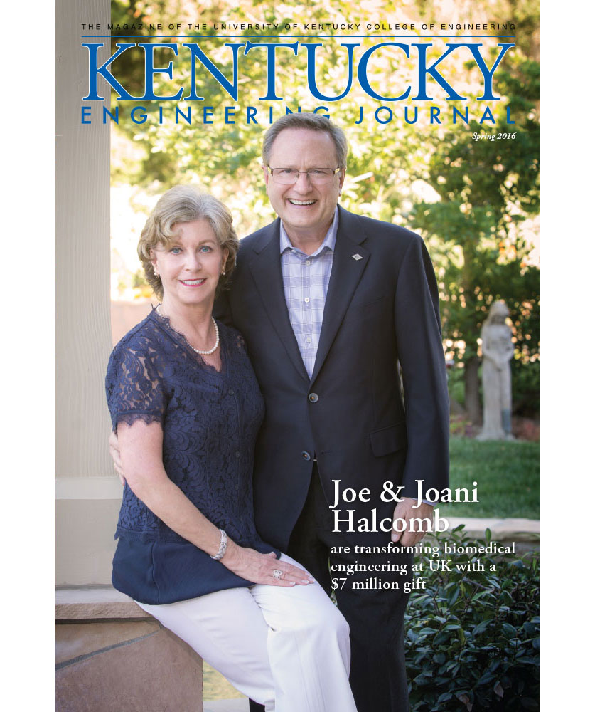 Kentucky Engineering Journal Spring 2016 Cover