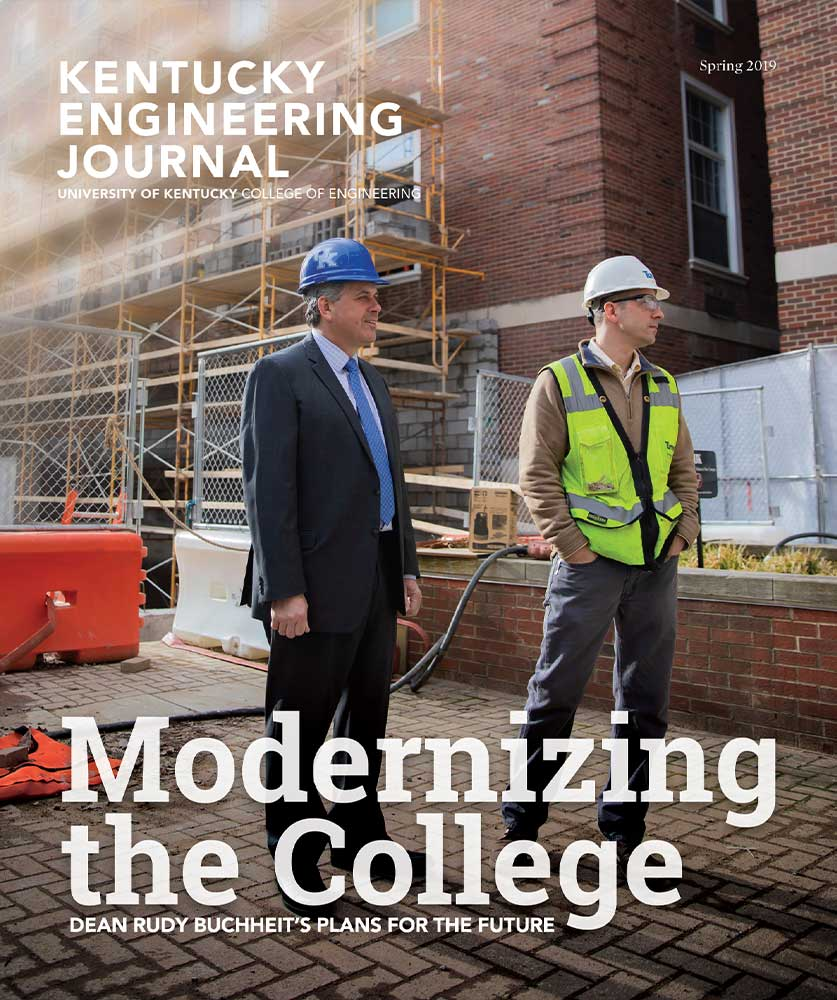 Kentucky Engineering Journal Spring 2019 Cover
