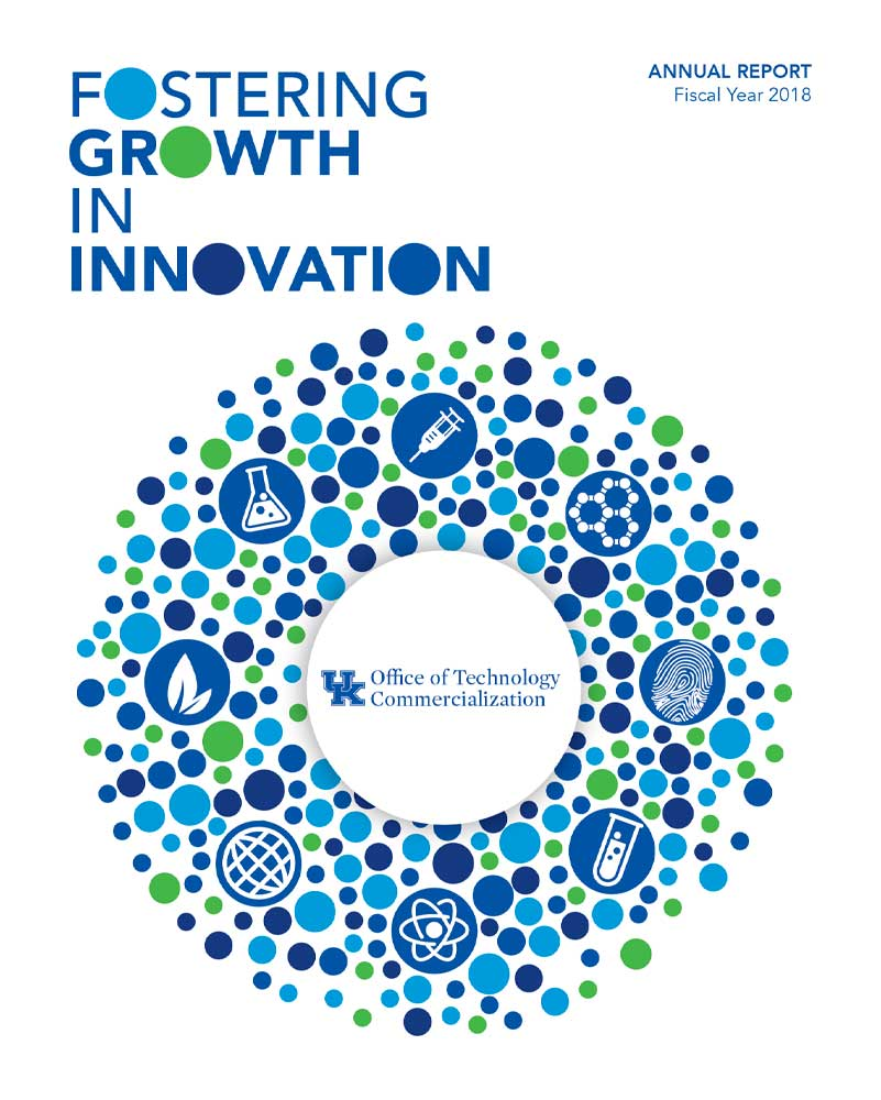 OK Office of Technology Commercialization Annual Report Design