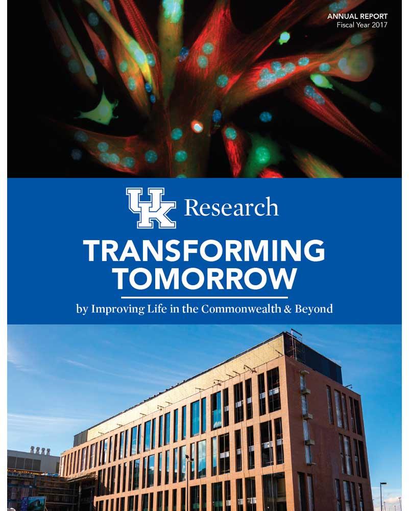 UK Research Annual Report - Brochure Design