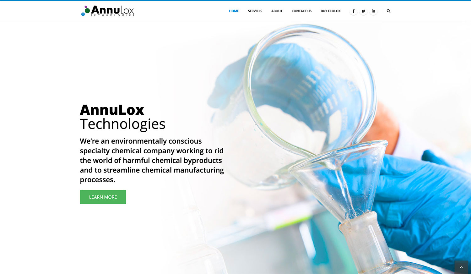 AnnuLox Technologies - Website Design