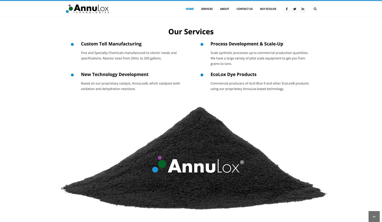 AnnuLox Technologies Services - Website Design