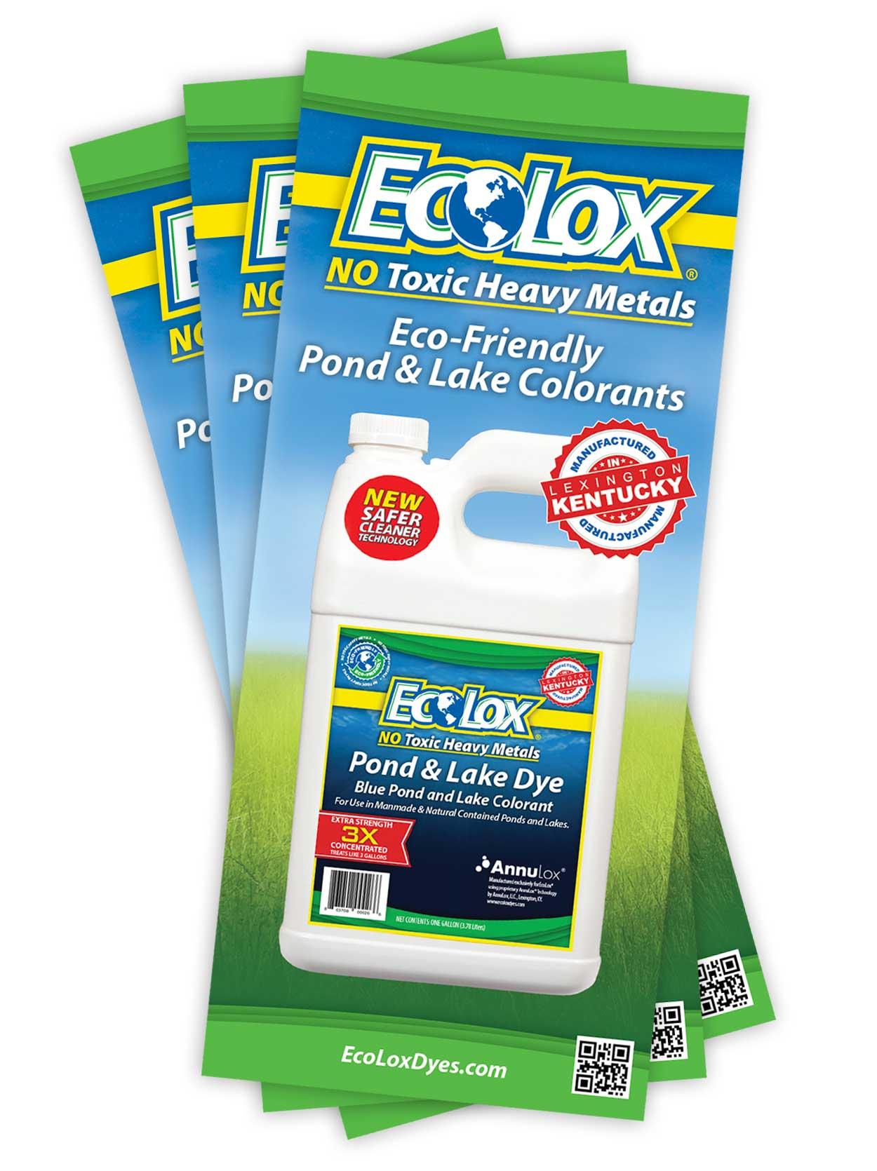 EcoLox Dyes Brochure - Print Design