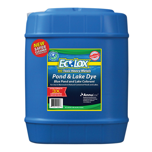 EcoLox Dyes Five Gallon 3X - Logo and Branding