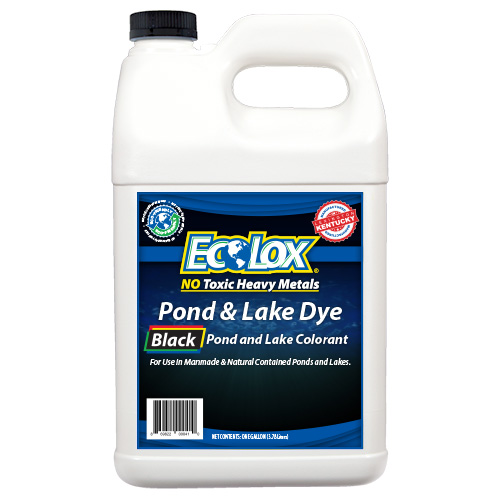 EcoLox Dyes One Gallon Black Dye - Product Photography