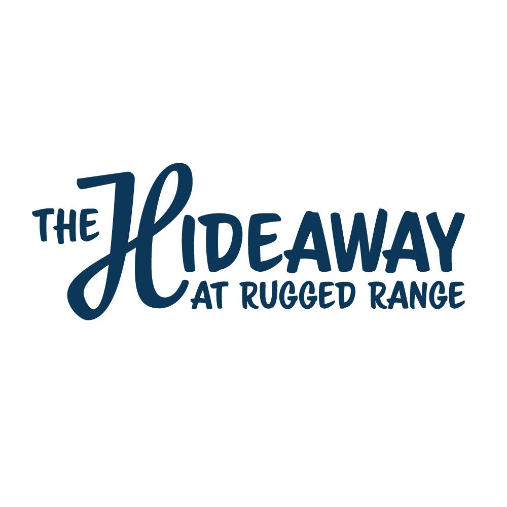 The Hideaway Rugged Range - Logo Design - by Camenisch Design